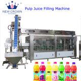 De automatische Lineaire Vullende Lijn van het Vruchtesap van de Fles van het Type Plastic Verse