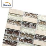 上の普及した卸し売りヨーロッパ式のパチパチ鳴る音の家のためのガラスモザイク・タイル