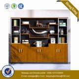 Ficheiro de madeira de vidro da biblioteca do armazenamento da biblioteca de Alumnium da porta (UL-MFC418)