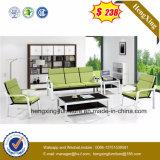 Мебель современная стали кожи в гостиной раскладной диван в разрезе Office (HX-CS015)