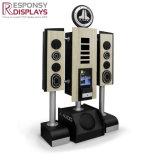 Creatividad Nuevo estilo de Car Audio soporte de pantalla soporte altavoz Bluetooth Altavoz caja acústica de armario rack