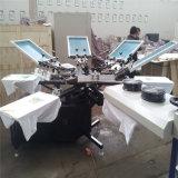 의복을%s 기계를 인쇄하는 수동 스크린