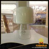 Lâmpada de tabela de aço moderna da cabeceira do espelho do Lampshade da tela (JT13023/00/001)