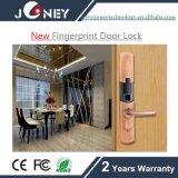 Bloqueo biométrico de la huella digital del sistema del bloqueo de puerta de la seguridad