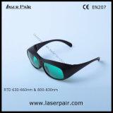Laserpairからの630の- 660nm Od3+及び800 - 830nm Od5+レーザー保護ガラス