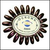 Poudre Ocrown88806 d'art de clou d'effet de miroir de caméléon de colorant de perle