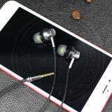 Sistema mãos livres de auriculares de metal com diferentes cores para iPhone