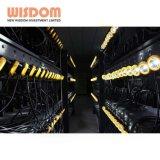 지혜 LED 헤드라이트 채광 램프, 광부의 LED 모자 램프
