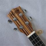 도매가 단단한 말쑥한 최고 줄무늬 목재 바디 하와이 우쿨렐레 연주회