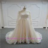 Eindeutiges und Form-Nixe-Hochzeits-Kleid