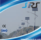 Indicatore luminoso solare del commercio all'ingrosso 5m 30W-120W Sreet con il sistema solare