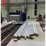 アルミニウム棒の連続鋳造ライン