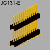 Singola riga SMT 1.27mm connettore dell'intestazione di 17 Pin