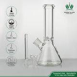 tubo di fumo di vetro di acqua della coppa di spessore di 9mm del tubo di vetro di vetro del tubo