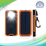 Portátil Universal 6000mAh 8000mAh 10000mAh LED Banco de potencia de las luces de emergencia Kit Cargador solar