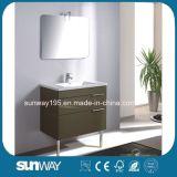 Europäischer Fußboden-stehende Badezimmer-Möbel Sw-Mf1615 der Art-2018