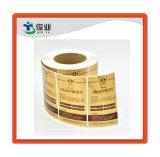 Фильтрующий элемент упаковки наклейки в рулонах