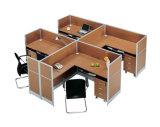 Stazione di lavoro superiore della call center del calcolatore di Seater dell'ufficio vendite 4 (SZ-WS316)