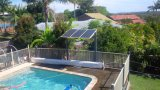 DC 무브러시 모터 보장 3 년을%s 가진 수영풀 활주를 위한 태양 강화된 수도 펌프