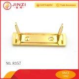 Il hardware della borsa perfezionamento il piatto di marchio del metallo