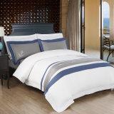 織物の綿の平野の白いホテルの寝具の一定のホテルの寝具(JRD810)