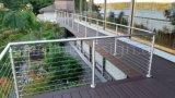 De Producten/de Leveranciers van China. De buiten Balustrade van de Kabel van de Omheining van het Balkon van Inox van het Traliewerk van het Balkon van Roestvrij staal 304