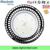 Ra>80 PF>0.9 135lm/W LED UFO para las fábricas de la Bahía de alta exposición