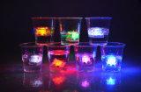 Cubo di ghiaccio infiammante promozionale del LED per la barra