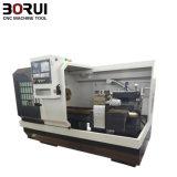 Cama plana horizontal de baixo custo Ferramenta torno mecânico CNC (CK6166)