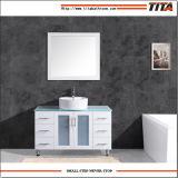 Vidrio lacado blanco Vanidad de vanidades de Baño Superior T9140-24W