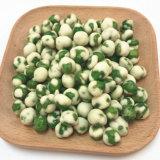 Halal Bescheinigung Wasabi Aroma gebratene grüne Erbsen-Imbiss-Qualität knusperig