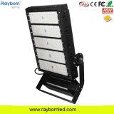 LED de 500W Reflector Industrial Deportes al aire libre con 25 grados