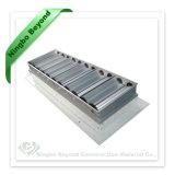 Aluminiumventilations-Gitter-Luft-Anschluss-Gitter-Ei-Rahmen-Gitter mit entfernbarem Kern