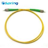 FC/ПОСЛЕ ЗАМКА ЗАЖИГАНИЯ- FC/APC Sm односторонней печати 3,0 мм 5 м кабель Оптоволоконные соединительные желтого цвета