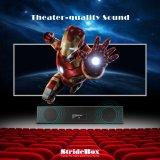 De androïde Doos van TV met de Doos van Sstride van de Spreker Bluetooth met S905X 2GB Memory/16GB Opslag pre-Geïnstalleerdea Kodi 17.3 Surpport 3D, Volledige 4K, Doos van het Theater van de Familie de Vastgestelde Hoogste