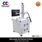 Laser die van de Vezel van het metaal de Plastic de Teller van de Laser van het Metaal van de Machine merken