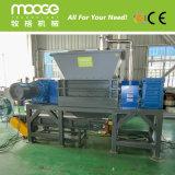 Residuos de plástico de doble eje de la máquina trituradora de papel