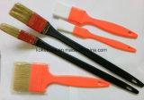 Borstel (radiatortype) in het Plastic of Houten Vrije Metaal van de Borstel van de Metalen kap van het Handvat Plastic