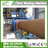 Удаление пыли стальную трубу дробеструйная очистка машины, стальной трубы для очистки поверхности оборудования