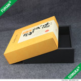 인쇄된 로고를 가진 주문을 받아서 만들어진 선물 상자