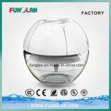 Épurateur eau-air aromatique pertinent de grume de refraîchissant d'air avec l'éclairage LED de sept couleurs