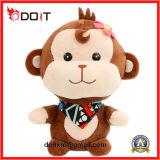 China Plush Toy Factory Petit jouet en peluche de singe de fleur