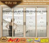 China-Fabrik-Aluminiumschiebetüren mit Auminium Profil