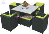 의자 테이블 고리 버들 세공 가구를 위한 고리 버들 세공 가구 등나무 가구를 가진 옥외 등나무 가구 Hz Bt95 최신 판매 소파