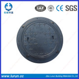 A15 둥근 En124 SMC 합성 방수 맨홀 뚜껑