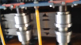 [دإكس] غلفن معدن [دوور فرم] لف يشكّل آلة
