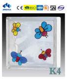 Высокое качество Jinghua художественных K-9 Окраска стекла блок/кирпича