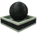 球の形のDecortive Polyresinの屋外の庭水噴水