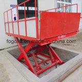 Elevador de tesoura fixa de serviço pesado / máquinas de construção
