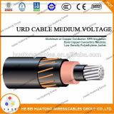 l'UL 5-46kv ha elencato Icea 1072 S94-649 Trxlpe 100% o cavo neutro concentrico 133% di Urd di potere dell'isolamento